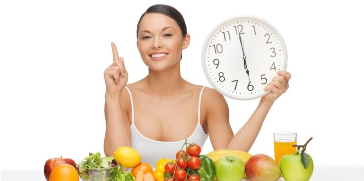 Le régime chrononutrition un moyen sain pour perdre 8 kilos en une semaine.